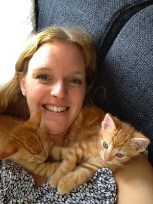 Me and my 2 cats