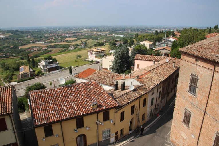 View over Longiano
