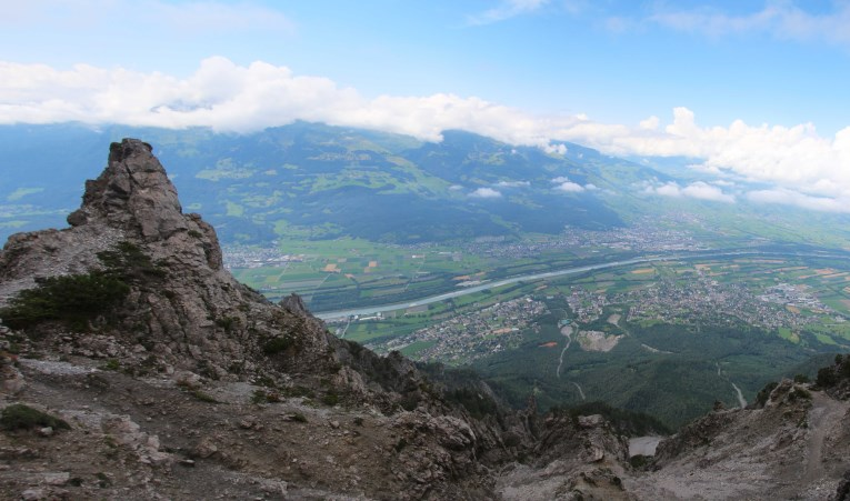 View from the Drei Schwestern hike