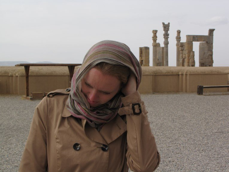 Scratching my head at Persepolis