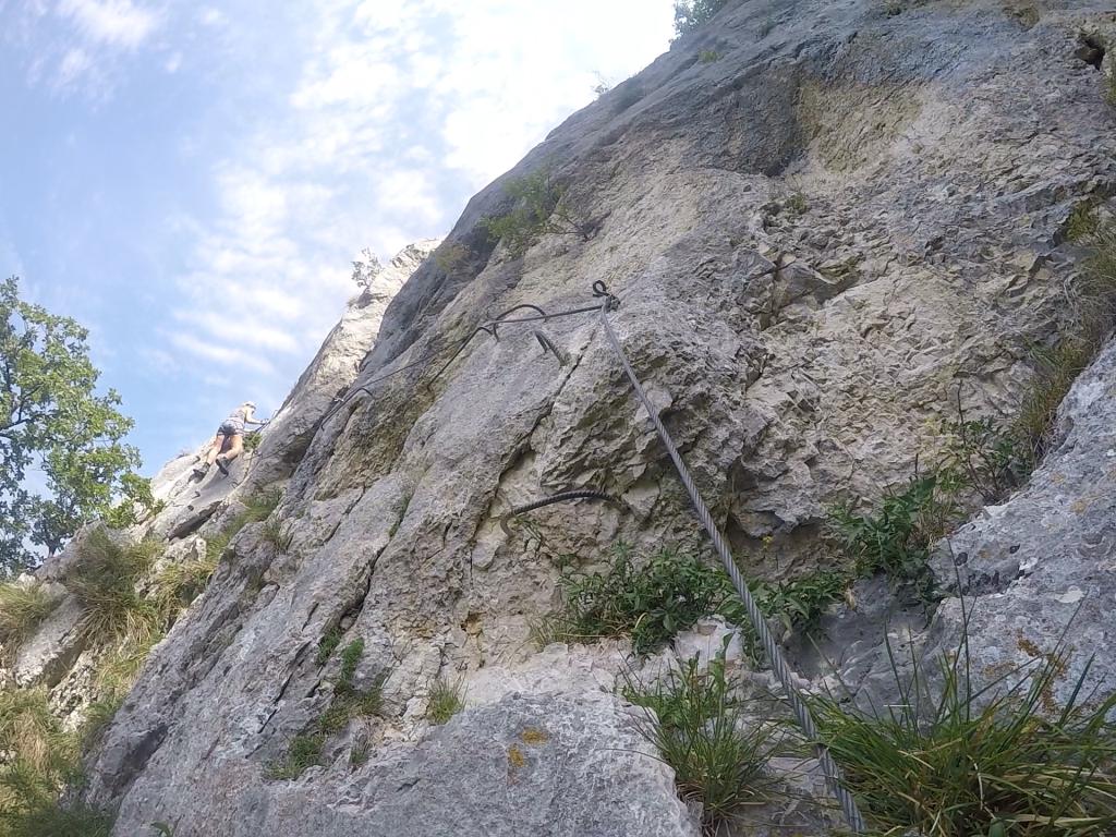 Klettersteig Levels : Via ferrata klettersteig elizabeth on the road
