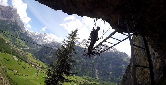 Klettersteig Switzerland : Switzerland europe travel
