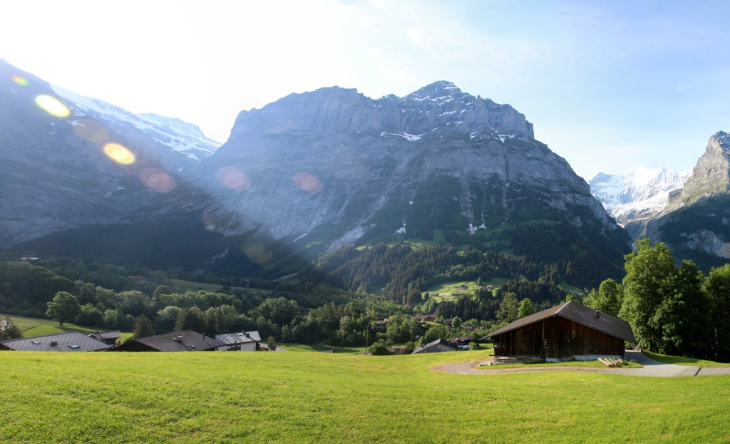 Klettersteig Grindelwald : Allmenalp kandersteg klettersteig
