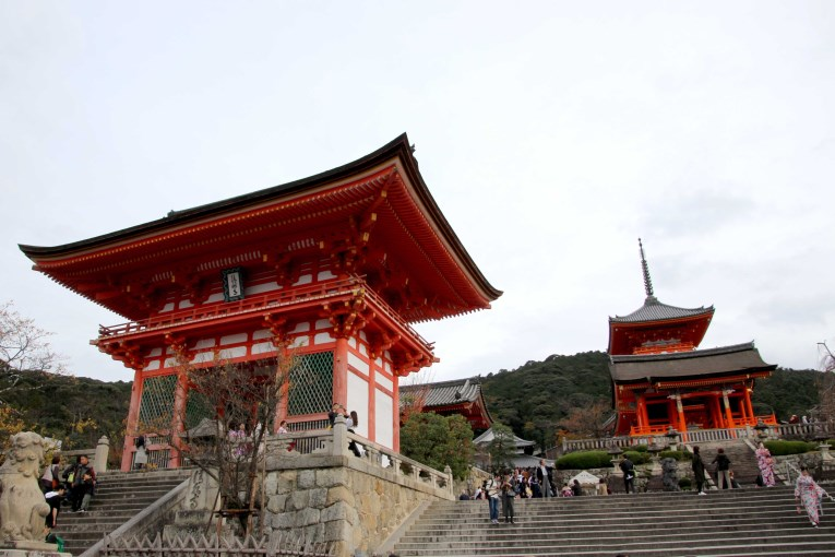 Kiyomizu-dera temple (Pure water temple)