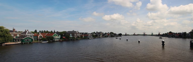 Zaanse schans from the bridge