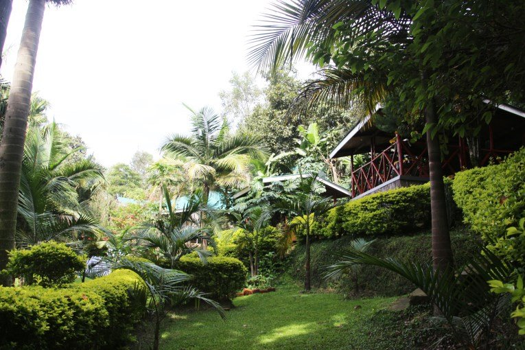 Accommodation lake Bunyonyi