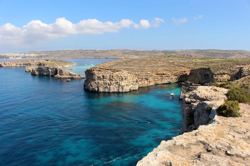 Blue lagoon and Comino, Malta   Elizabeth on the Road