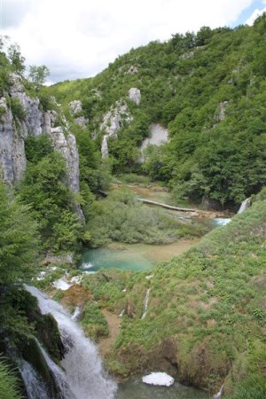 Plitvice lakes views