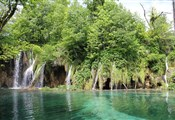 Plitvice lakes, small waterfalls