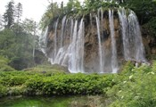 Plitvice lakes, waterfall2